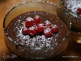 Шоколадно-мятный крем-мусс