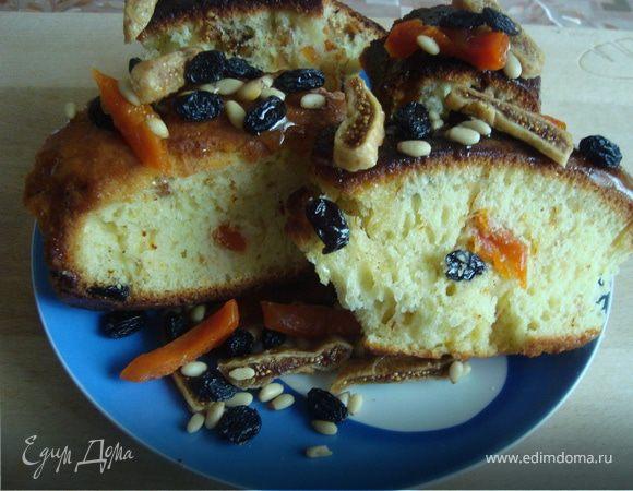 Арабский пирог с шафраном