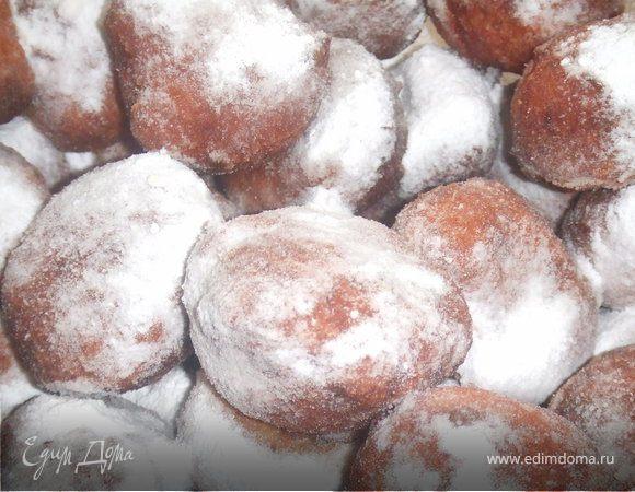Пончики творожные и пончики на сгущёнке