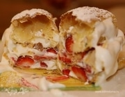 Пирожное «Клубничный наполеон»