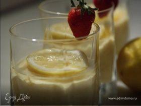 Лимонно-медовый мусс