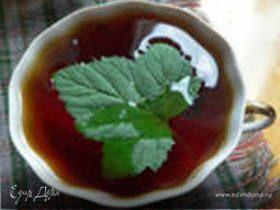 Чай с соком из черной смородины