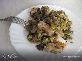 Свининка с овощами