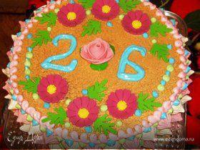 Бисквитный торт ( ну оочень вкусный))))))