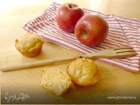 Яблочные маффины с изюмом