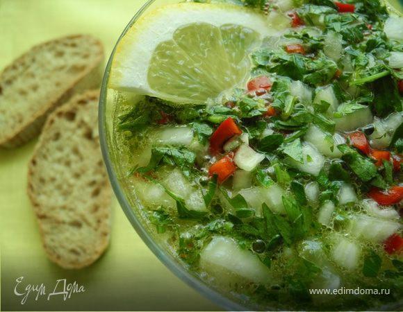 Лимонный суп по-сицилийски