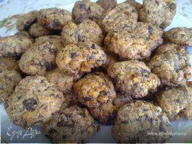 Ореховое печенье с шоколадом