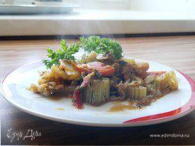 Пряные тушеные овощи