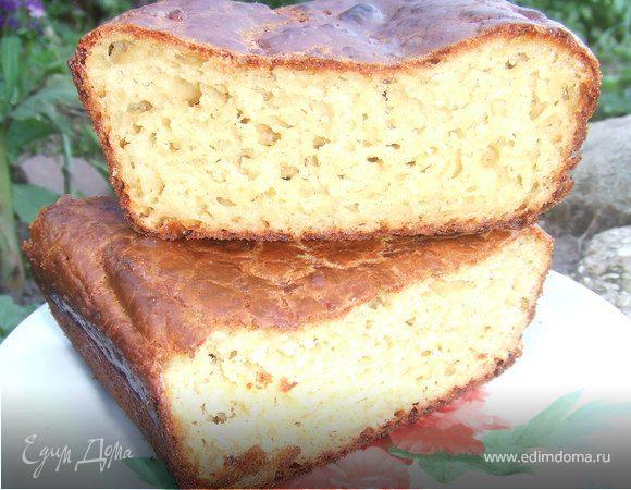 """Быстрый """"хлеб"""" с сыром чеддер"""