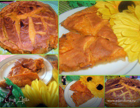 Тыквенный пирог-омлет