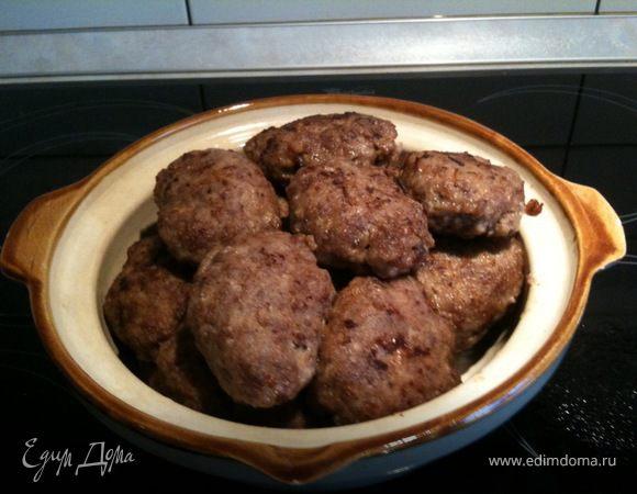 котлеты из кабанятины с салом рецепт