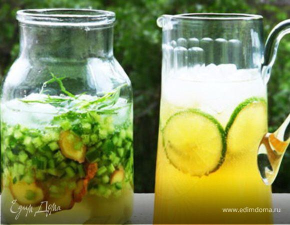Лаймовый лимонад с жасмином и зеленым чаем