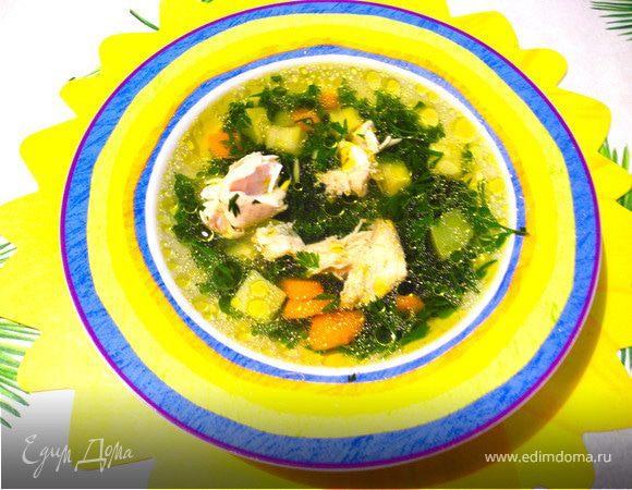 """Суп """"Морковные хвостики"""""""