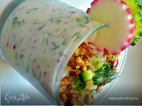 Летний, холодный, йогуртовый суп
