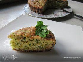 Сырно - кабачковый пирог