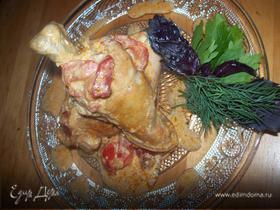Цыпленок по - Венгерски