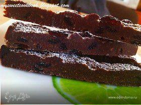 Шоколадный корж на скорую руку