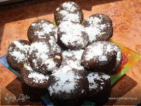 Шоколадные кексики