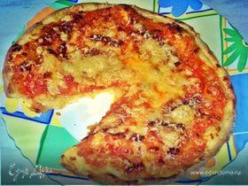 Пицца для маленькой компании.