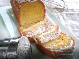 Миндальный кекс с оливковым маслом и апельсиновой цедрой