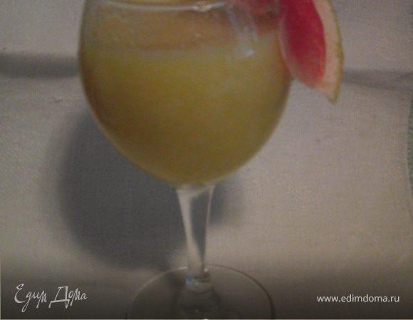 дынно-манговый коктейль.