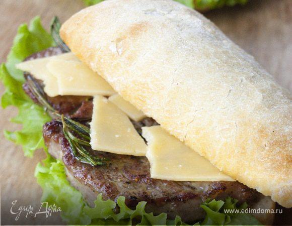Горчичный сэндвич