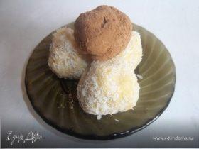 """Пирожное """"Картошка"""" с нектарином"""