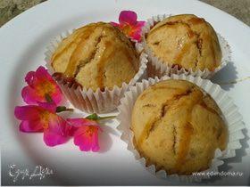 КориЦневые кексики с абрикоской