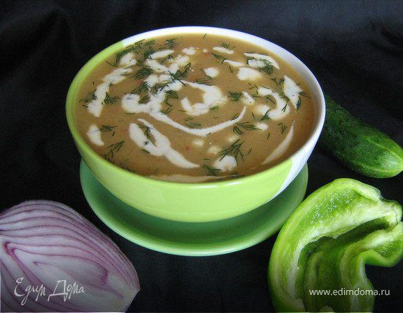 Гватемальский суп из огурцов
