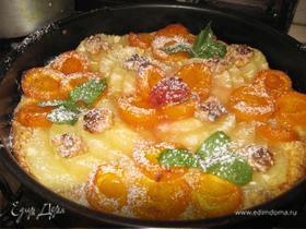 Абрикосово-ананасовый тарт в карамели
