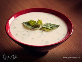 Холодный мятный суп