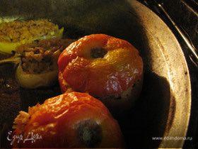 """Фаршированные овощи """"по-гречески"""""""
