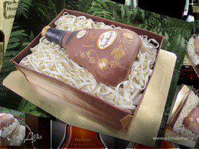 """Торт """" Коробка с коньяком"""""""