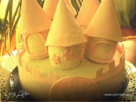 """Торт """"Волшебный замок"""""""