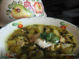 Суп карри с яблоками