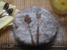 """Винный пирог с ананасом""(Tortal al vino with pineapple)"