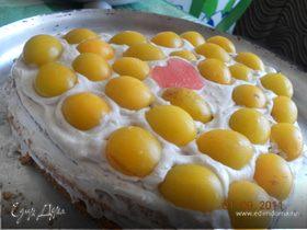 Тортик на оливковом масле