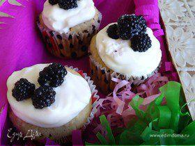 Кексы | Ежевичное настроение