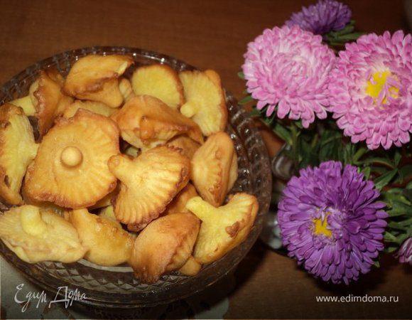 рецепт печенье грибочки приготовить в домашних условиях на газу