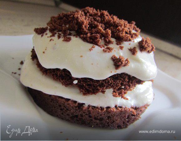 Рецепт быстрого приготовления торта с творогом