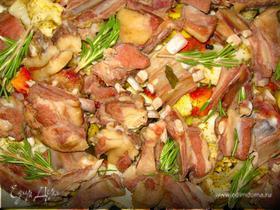 Домашнее жаркое с бараниной (Home-made Lamb Stew).