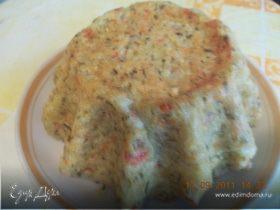 творожно-овощные кексы