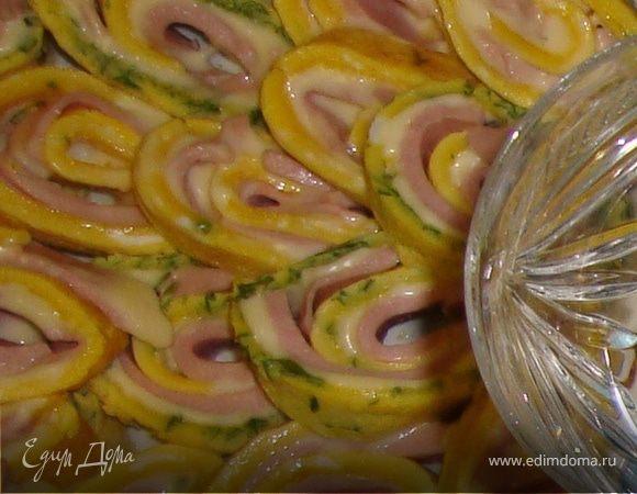 Яичные рулеты из Италии