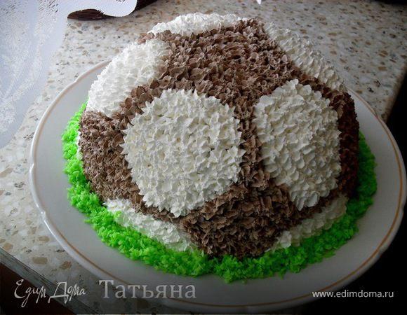 рецепт торт мяч