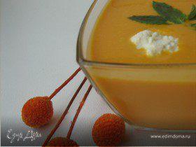 Сливочный крем-суп из тыквы