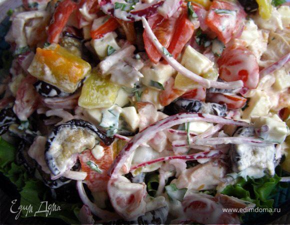 Как приготовить салат из копченой куриной грудки