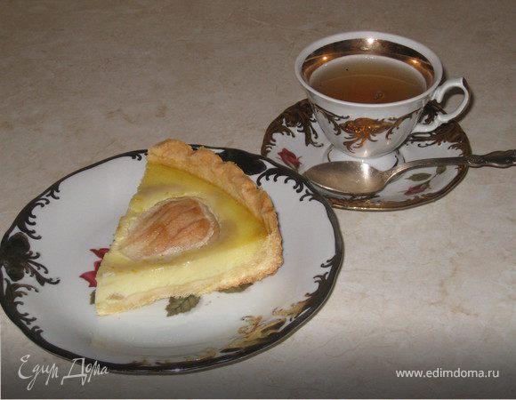 Эльзасский грушевий пирог