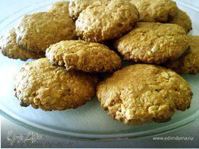 Овсяное печенье с семенами подсолнечника
