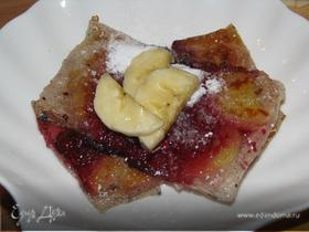 Харумаки с фруктово-ягодной начинкой