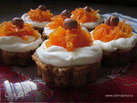 Швейцарский морковный торт и пирожные